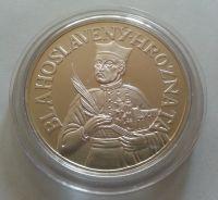svatý Hroznata, (průměr 40mm), Ag medaile, ČR