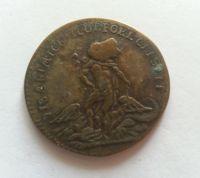 žeton 1715-74, Ludvík XV., Francie