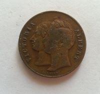 žeton královny Viktorie+prince Alberta, 1837-1901, Anglie