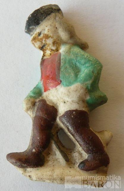 III.říše, zimní pomoc - figurka kocour v botách