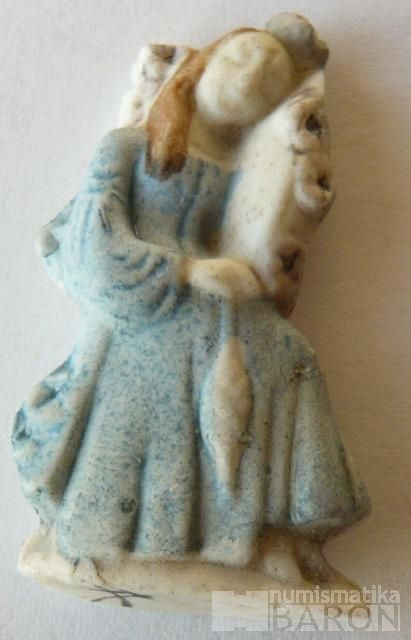 III.říše, zimní pomoc - figurka princezna přadlena