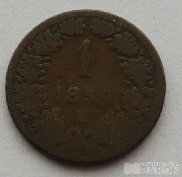 Rakousko 1 Krejcar 1859 E