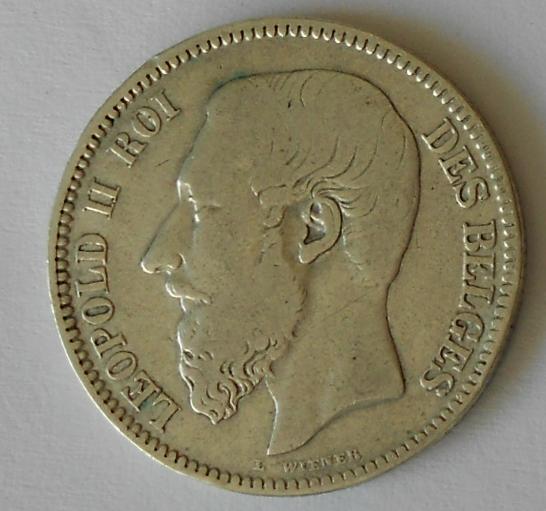 Belgie 2 Frank 1867