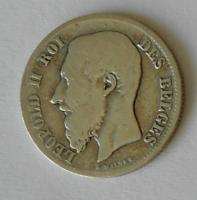 Belgie 50 Cent 1899