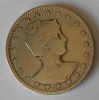 Brazílie 400 Reis 1885