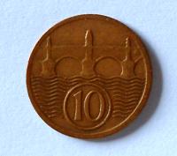 ČSR 10 Haléř 1923