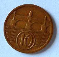 ČSR 10 Haléř 1927