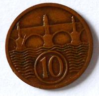 ČSR 10 Haléř 1930
