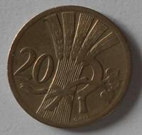 ČSR 20 Haléř 1927