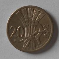 ČSR 20 Haléř 1928 STAV