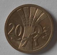 ČSR 20 Haléř 1931 STAV