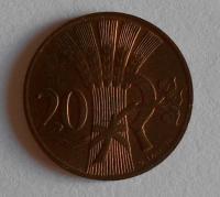 ČSR 20 Haléř 1950