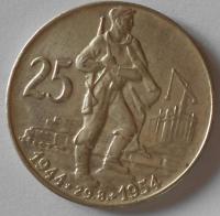 ČSR 25 Kčs – SNP 1954