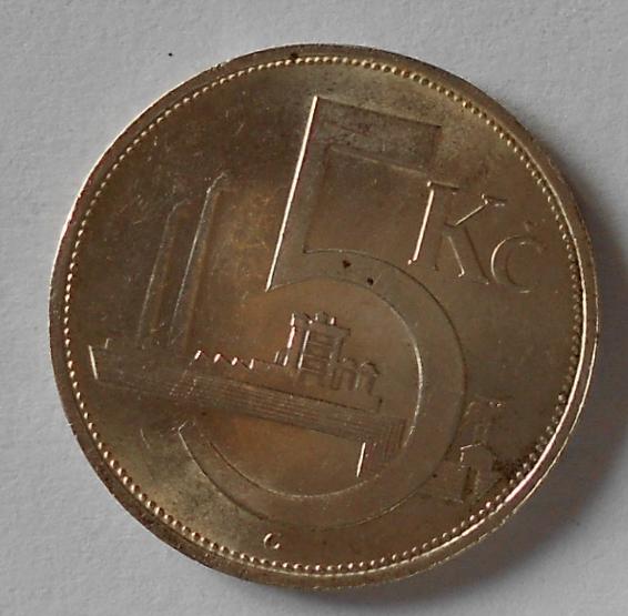 ČSR 5 Kč 1930