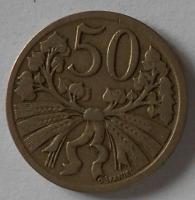 ČSR 50 Haléř 1922