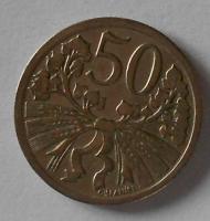 ČSR 50 Haléř 1924 STAV