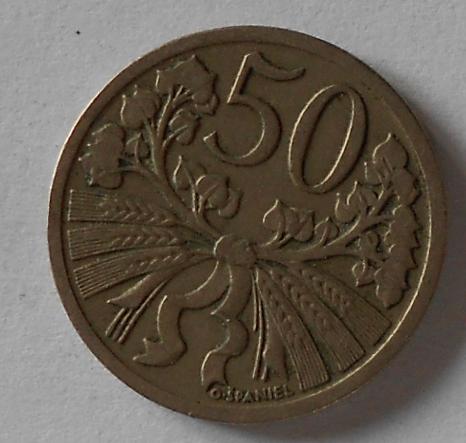 ČSR 50 Haléř 1931