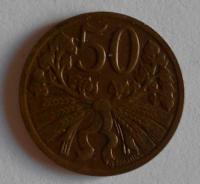 ČSR 50 Haléř 1950