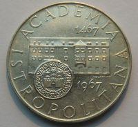 ČSSR 10 Kč akademia ISTROPOLITANA 1967