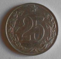 ČSSR 25 Haléř 1953 STAV