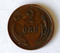 Dánsko 2 Öre 1897
