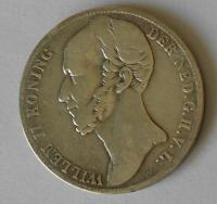 Holandsko 1 Gulden 1846 Vilém II.