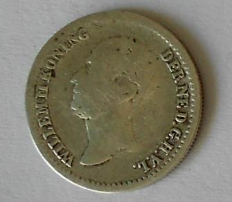 Holandsko 10 Cent 1849