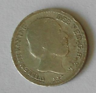 Holandsko 10 Cent 1869