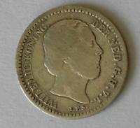 Holandsko 10 Cent 1889