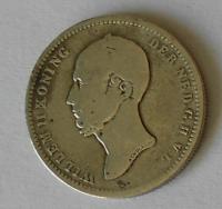 Holandsko 25 Cent 1849 Vilém II.