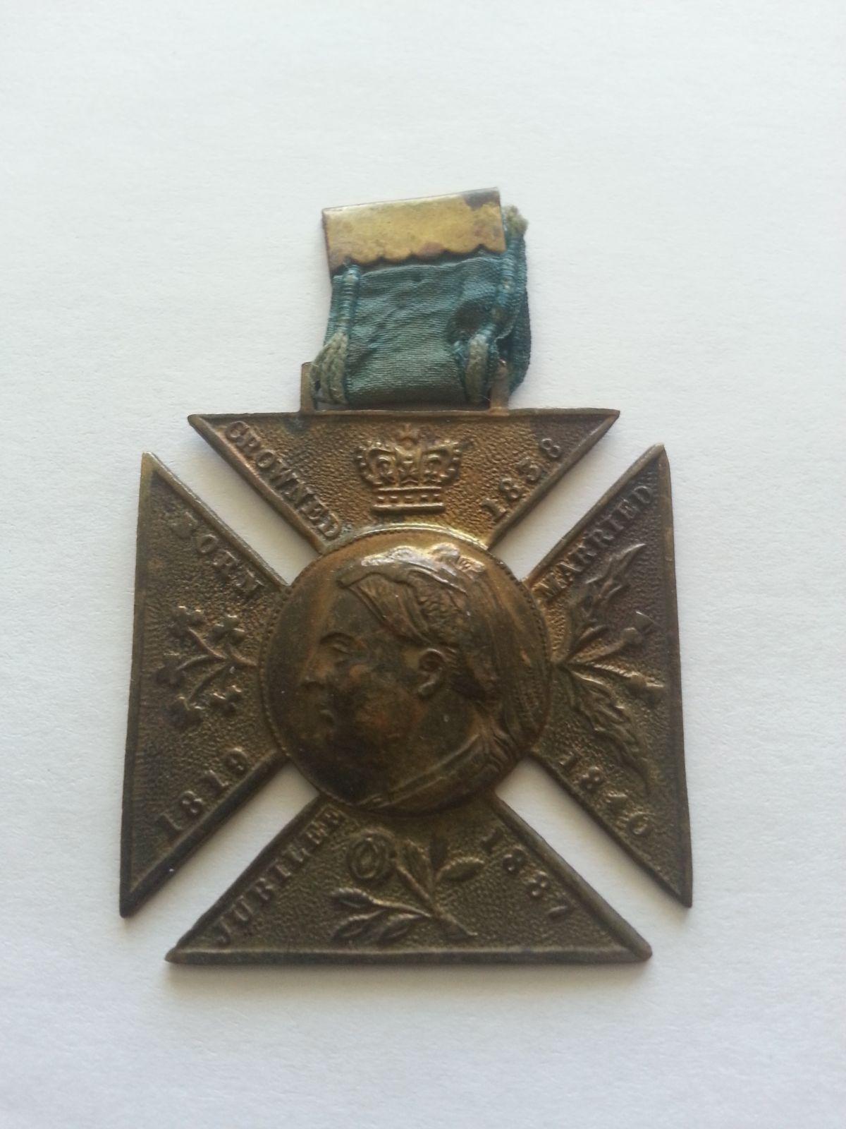 kříž SILVER WEDDING Viktoria+Albert, 1863-83, V.Británie