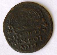Polsko Groš 1611 Zikmund