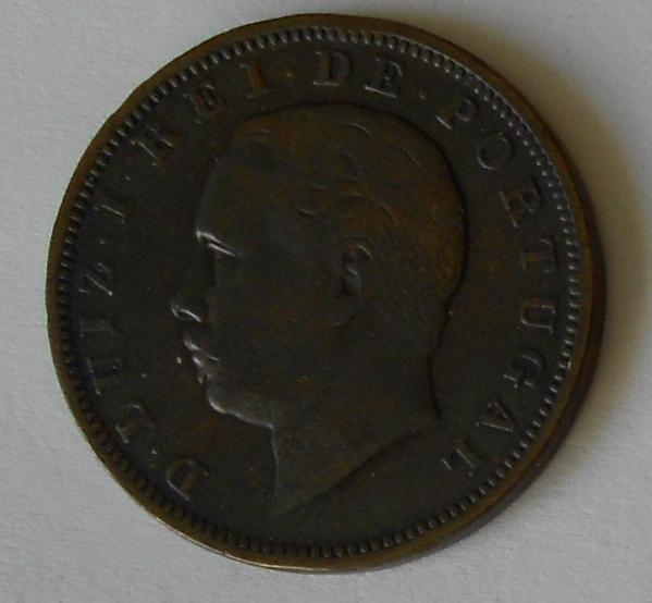 Portugalsko 20 Reis 1884
