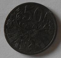 Protektorát Čechy a Morava 50 Haléř 1941 STAV