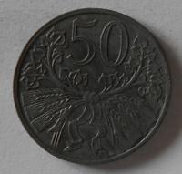 Protektorát Čechy a Morava 50 Haléř 1943