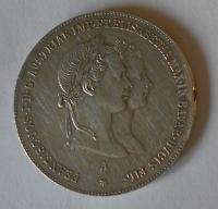 Rakousko 1/2 Tolar 1854 zásnubní
