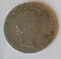 Rakousko 1/4 Floren 1858 A