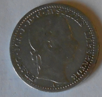 Rakousko 1/4 Floren 1862 A