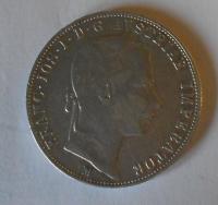 Rakousko 1 Floren 1859 M