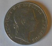 Rakousko 1 Floren 1860 E