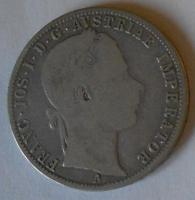 Rakousko 1 Floren 1864 A