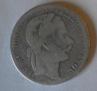 Rakousko 1 Floren 1867 A