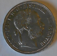 Rakousko 1 Floren 1885