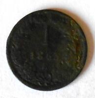 Rakousko 1 Krejcar 1863 E