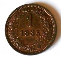Rakousko 1 Krejcar 1885 STAV