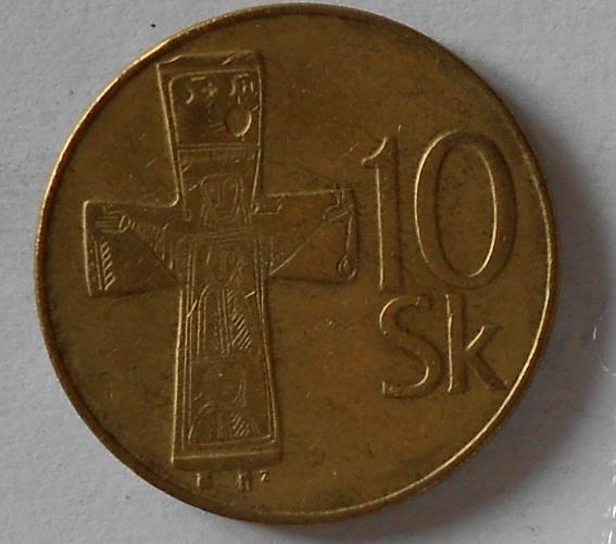 Slovenská republika 10 Sk 1993