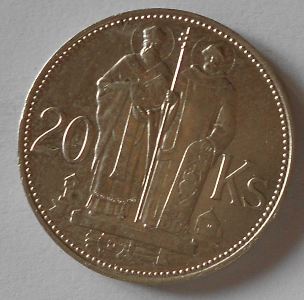 Slovensko 20 Ks C+M 1941