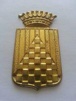 štítek jednotek generála Francka, občanská válka, Španělsko