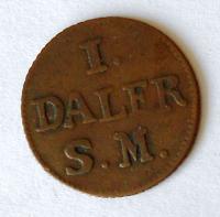 Švédsko 1 Daler 1715
