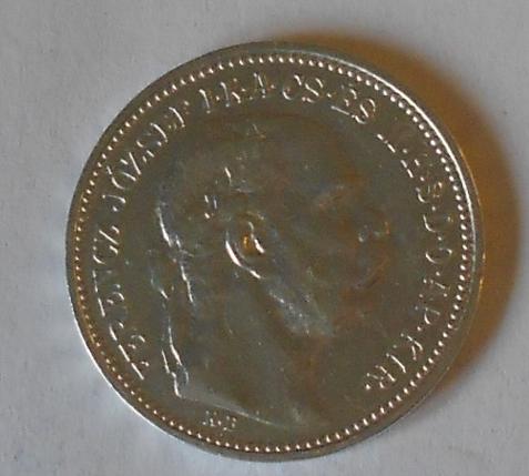 Uhry 1 Koruna 1912 KB STAV